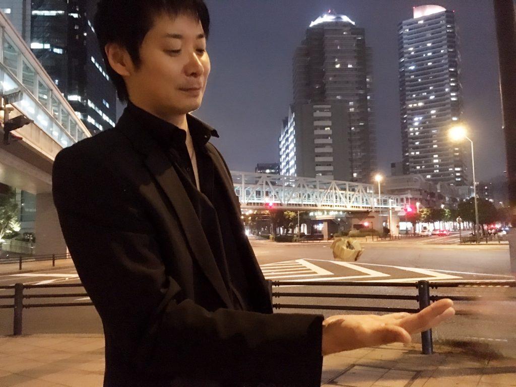 マジシャン池田太郎 プロフィール写真