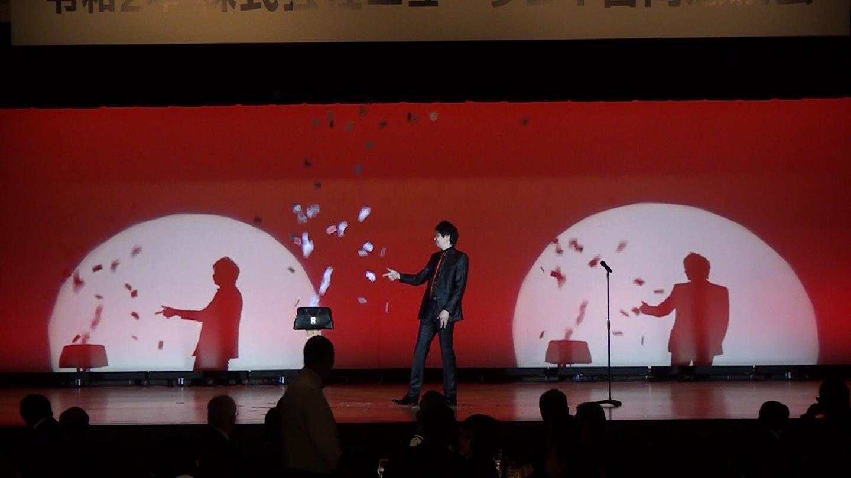マジシャン 池田太郎銀座 帝国ホテルでのイリュージョンマジックショー