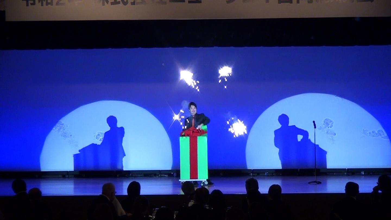 マジシャン 池田太郎 イリュージョンマジックの写真